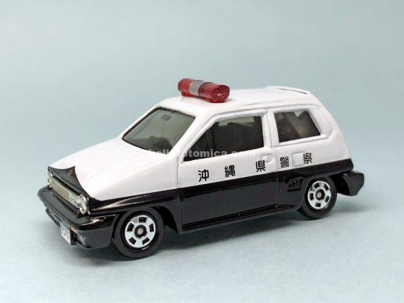 54-5 Honda シティ ターボII パトロールカー はるてんのトミカ