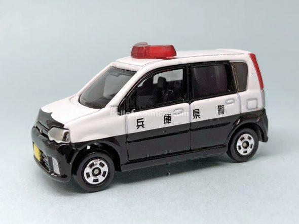 20-9 DAIHATSU MOVE PATROL CAR はるてんのトミカ