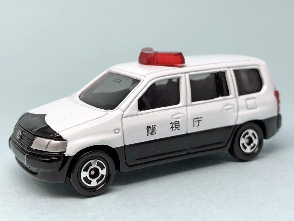 36-5 トヨタ プロボックス (パトロールカー仕様) はるてんのトミカ