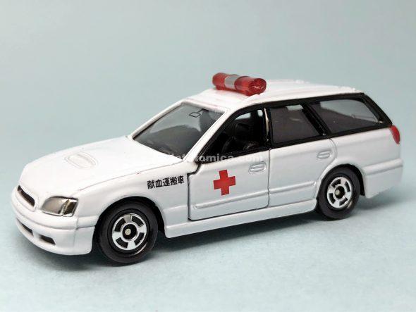 18-5 スバル レガシィ (献血運搬車仕様) はるてんのトミカ