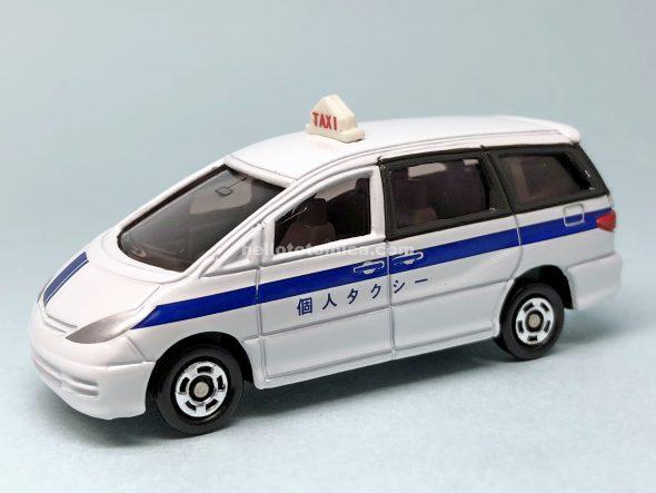 99-5 トヨタ エスティマ タクシー はるてんのトミカ