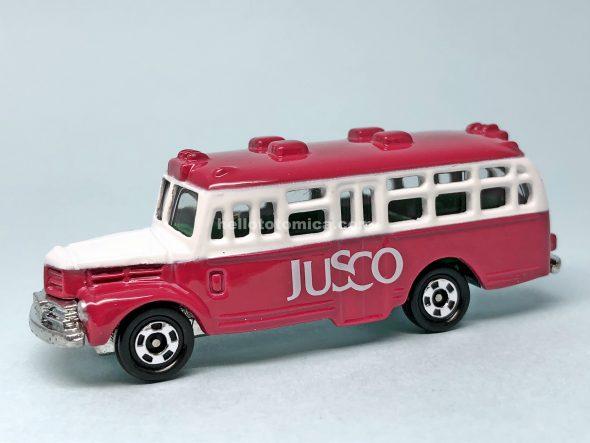 6-2 ジャスコ ボンネットバス はるてんのトミカ