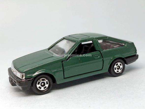 78-4 トヨタ カローラ レビン AE86 はるてんのトミカ