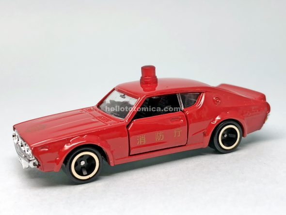 82-1 SKYLINE 2000GT FIRE CHIEF CAR はるてんのトミカ