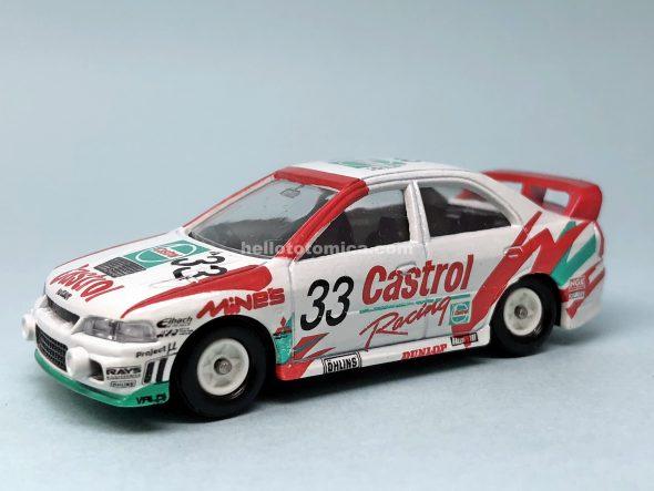 S10-1 ランサーエボ4 1997 N1耐久 Castrol仕様車 はるてんのトミカ
