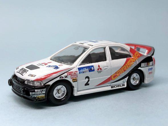 S10-1 三菱 カリスマGT 1997WRC バーンズ車 はるてんのトミカ