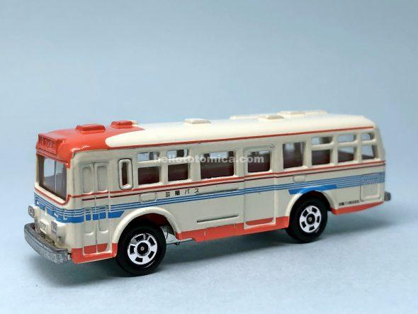 79-2 MITSUBISHI FUSO ONE-MAN OPERATED BUS はるてんのトミカ