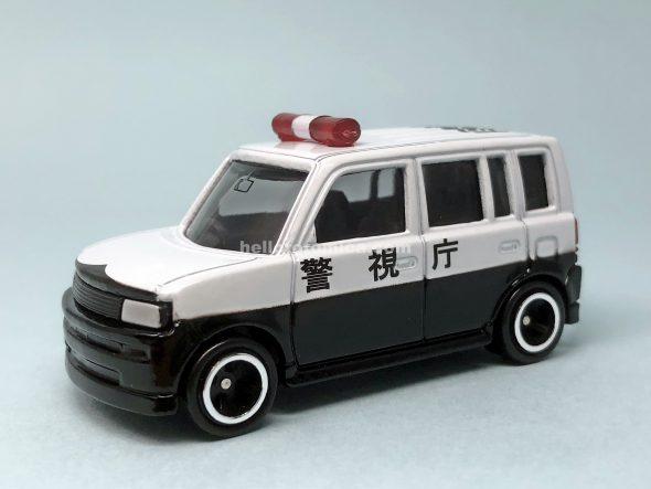 5-4 トヨタ bB パトカー(2003年5月) はるてんのトミカ