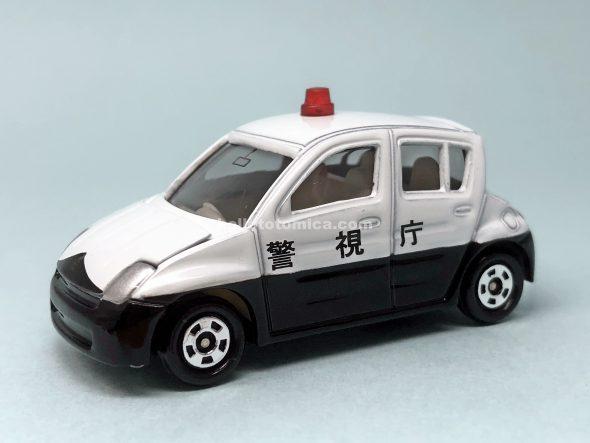 27-6 トヨタ Will Vi パトカー(2003年6月) はるてんのトミカ