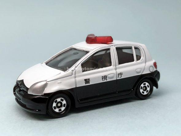 110-3 トヨタ ヴィッツ パトカー(2003年8月) はるてんのトミカ
