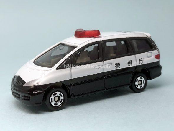 99-5 トヨタ エスティマ パトカー(2003年9月) はるてんのトミカ