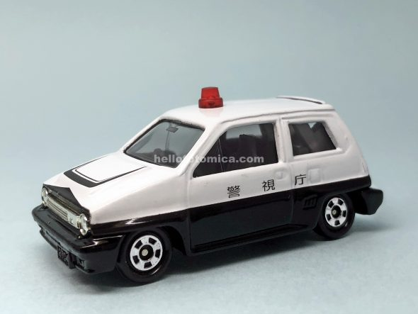 54-5 ホンダ シティ ターボII パトロールカー(スペシャルバージョン) はるてんのトミカ
