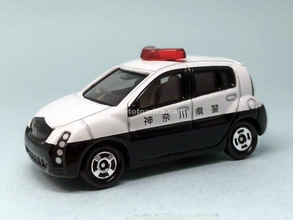 88-3 トヨタ ウィル サイファ パトカー(2004年2月) はるてんのトミカ
