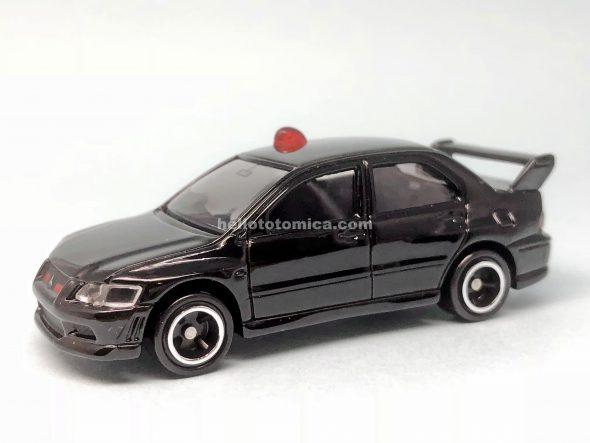 34-6 三菱 ランサーエボリューションVII 捜査用パトカー(2003年12月) はるてんのトミカ