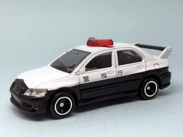 34-6 三菱 ランサーエボリューションVII パトカー(2003年12月) はるてんのトミカ