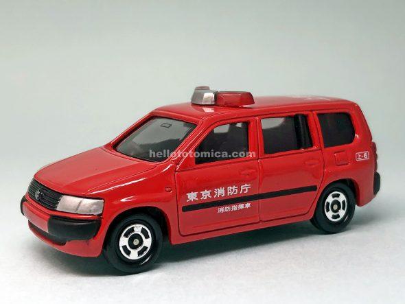 97-5 トヨタ プロボックス 消防指揮車(2004年8月) はるてんのトミカ