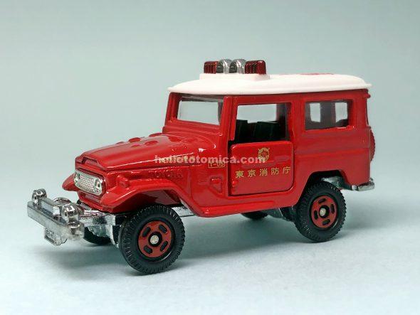 2-2 トヨタ ランドクルーザー 消防指揮車(2004年7月) はるてんのトミカ