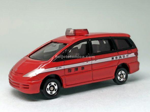 99-5 トヨタ エスティマ 消防指揮車(2004年9月) はるてんのトミカ