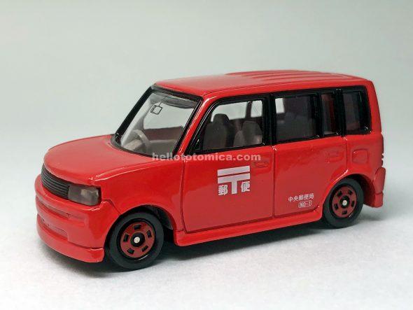 5-4 トヨタ bB 郵便車 (2004年10月) はるてんのトミカ