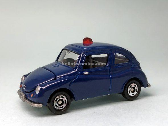 21-4 スバル360 捜査用パトロールカー(2005年8月) はるてんのトミカ