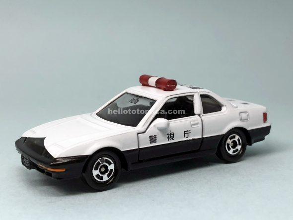 54-6 ホンダ プレリュード パトロールカー(2005年9月) はるてんのトミカ