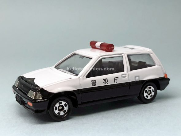17-5 Honda シビック パトロールカー(2005年6月) はるてんのトミカ