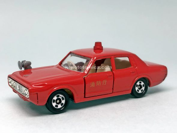 27-2 TOYOTA CROWN FIRE CHIEF はるてんのトミカ