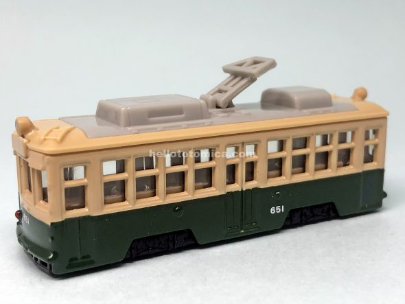66-5 HIROSHIMA ELECTRIC RAILWAY TYPE 650 はるてんのトミカ