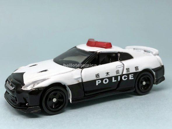 105-9 NISSAN GT-R POLICE CAR はるてんのトミカ