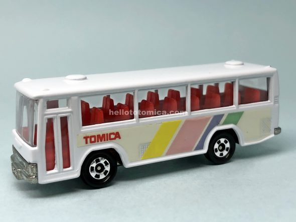 41-3 HINO SKELETON RAINBOW BUS はるてんのトミカ