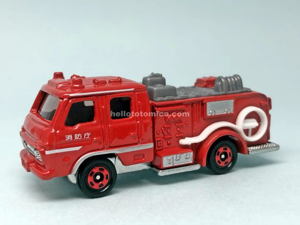 110-2 NISSAN DIESEL PUMP FIRE ENGINE はるてんのトミカ