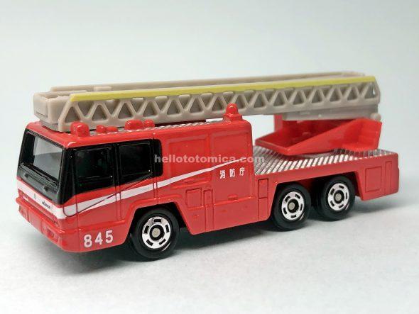 108-4 日野はしご付消防車(モリタ・スーパージャイロラダー) はるてんのトミカ
