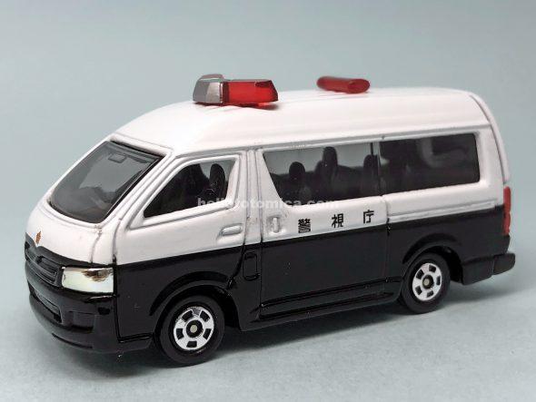 48-7 トヨタ ハイエース パトロールカー はるてんのトミカ