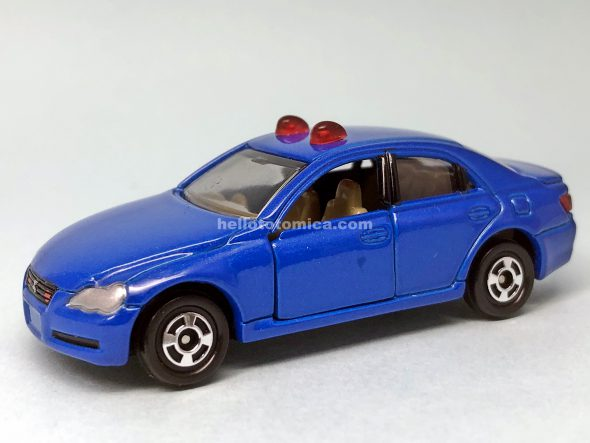 72-4 トヨタ マークX 覆面パトロールカー はるてんのトミカ