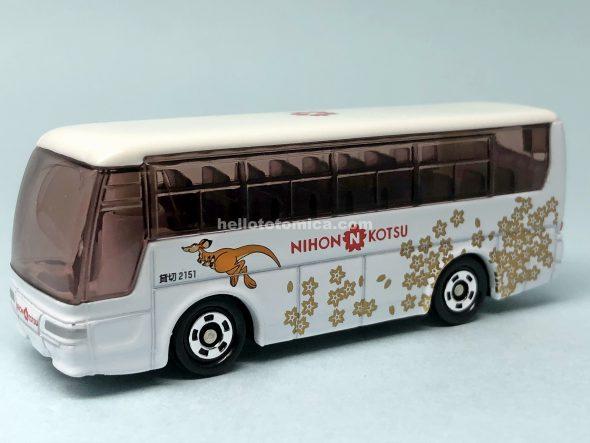 1-4 三菱ふそう エアロクイーン 日本交通観光バス はるてんのトミカ