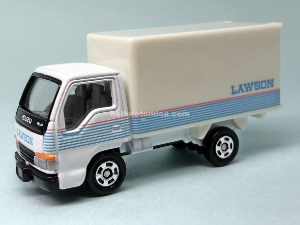 83-4 ローソン 配送トラック はるてんのトミカ