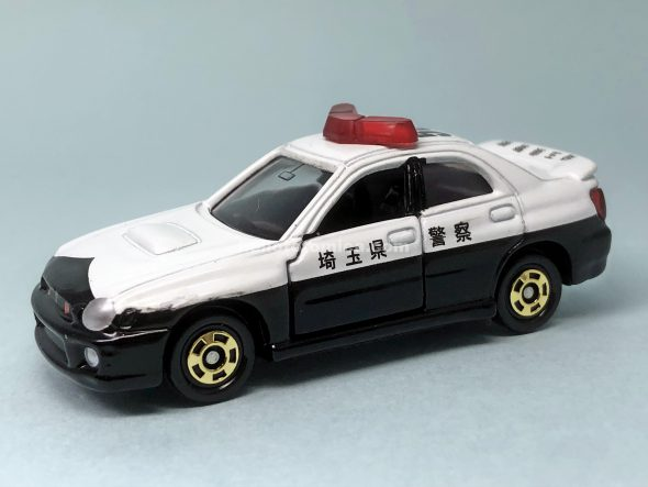54-8 スバル インプレッサ WRX パトカー はるてんのトミカ