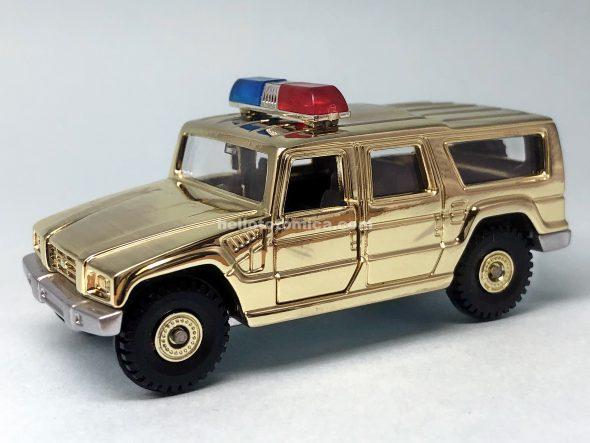 3-5 トヨタ メガクルーザー パトロールカー はるてんのトミカ