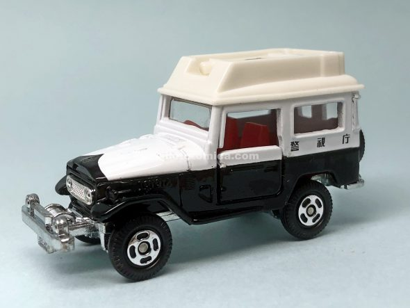 76-2 TOYOTA LAND CRUISER PATROL CAR はるてんのトミカ