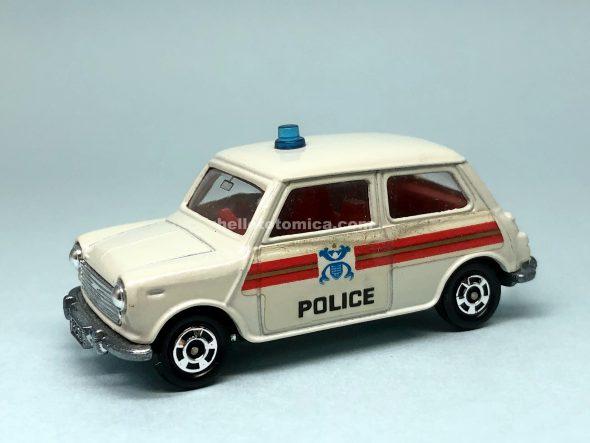 F8-2 BLMC MINI COOPER S POLICE CAR はるてんのトミカ