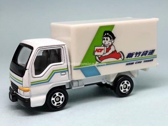 83-4 いすゞ エルフ パネルトラック 新竹貨運 はるてんのトミカ