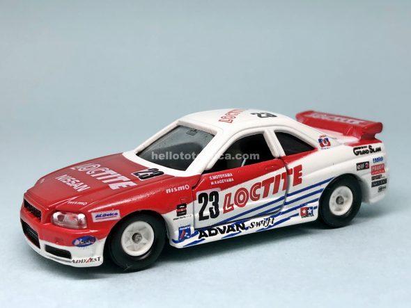 20-8 スカイライン GT-R R34 No.23 ロックタイト はるてんのトミカ