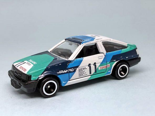 78-4 トヨタ カローラ レビン AE86 TRAMPIO はるてんのトミカ