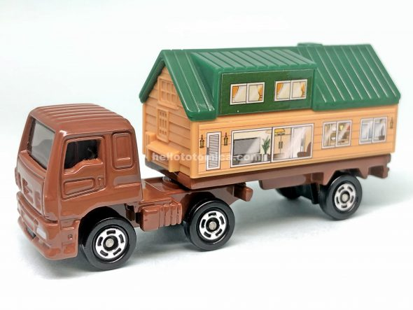 89-6 ISUZU GIGA TRAILER HOUSE はるてんのトミカ