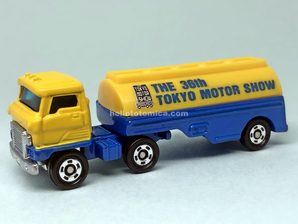 11-2 HINO SEMI TRAILER TRANSPORT TANK はるてんのトミカ