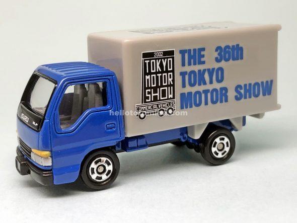 83-4 いすゞ エルフ パネルトラック はるてんのトミカ