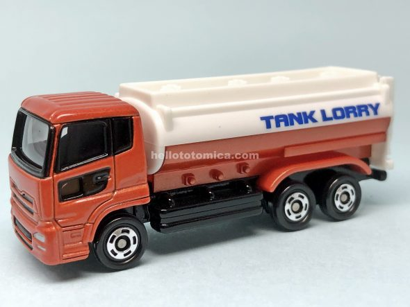 57-4 NISSAN DIESEL Quon TANK LORRY はるてんのトミカ