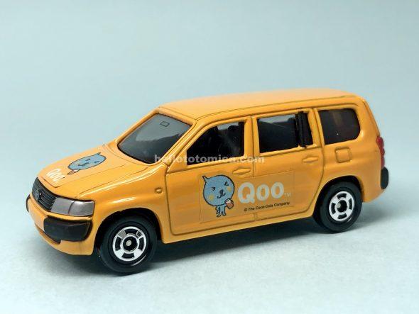 97-5 トヨタ プロボックス(Qooオレンジ) はるてんのトミカ