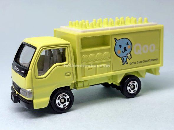 105-4 いすゞ エルフ ボトルカー(Qooマスカット) はるてんのトミカ