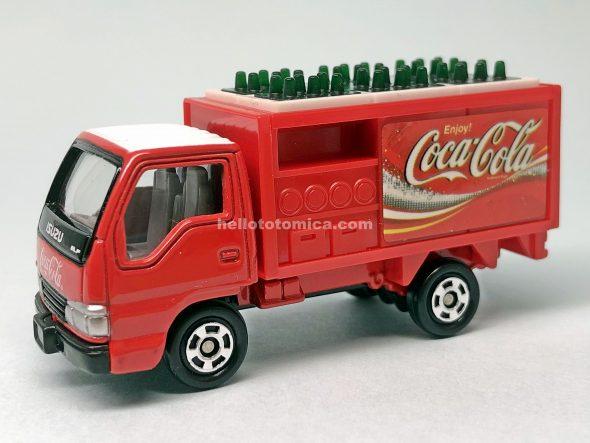 105-4 コカ・コーラ ルートトラック はるてんのトミカ